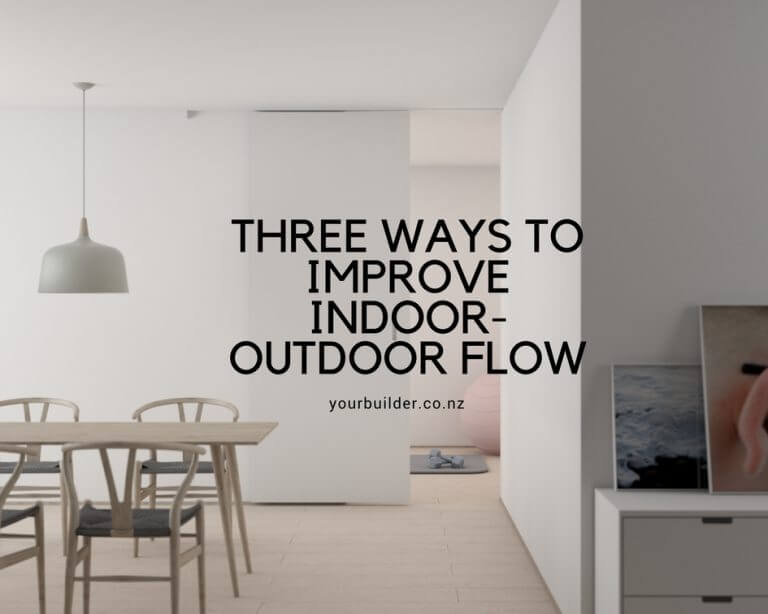 Enhance Your Home's Indoor – Outdoor Flow