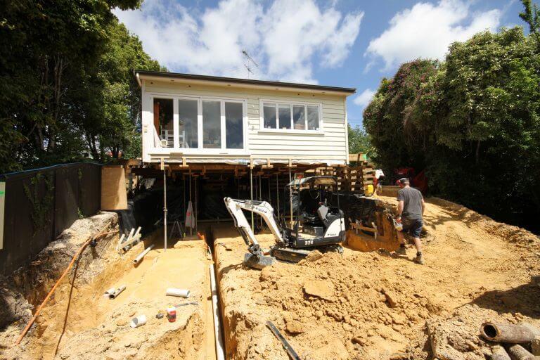 house-excavation